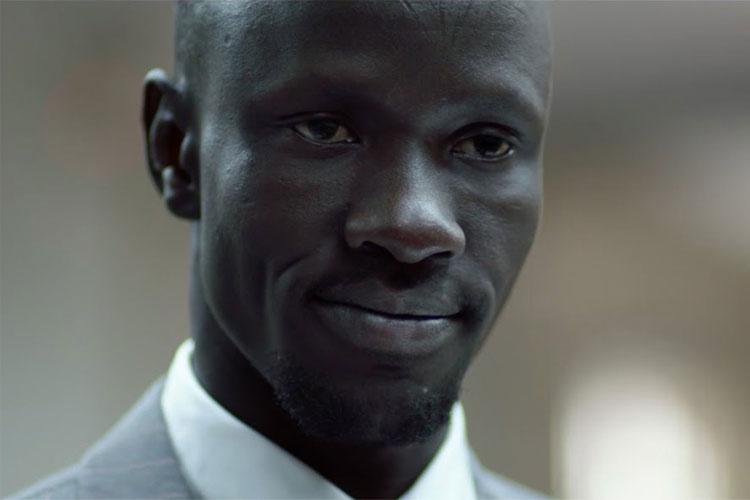 Sudanese refugee lawyer Deng Adut