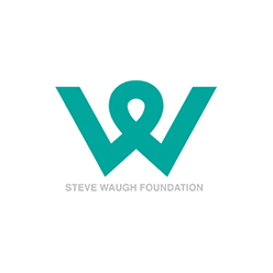Steve Waugh Foundation logo